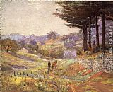 Theodore Clement Steele Hills of Vernon painting