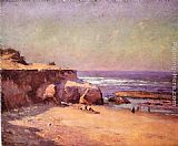 Theodore Clement Steele On the Oregon Coast painting