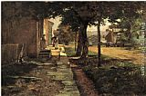 Theodore Clement Steele Street in Vernon painting