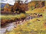 Theodore Clement Steele Tennessee Scene painting