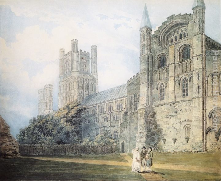 Thomas Girtin Ely Cathedral from the South-East (after James Moore)