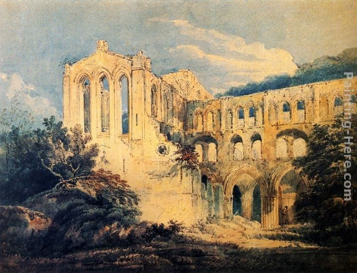 Thomas Girtin Rievaulx Abbey