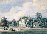 Thomas Girtin Chalfont Lodge, Buckinghamshire painting