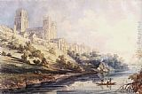 Thomas Girtin Durham Cathedral and Castle painting