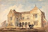Thomas Girtin St Nicholas Hospital, Richmond, Yorkshire painting