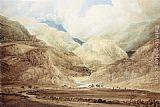 Thomas Girtin View near Beddgelert (Snowdonia) painting