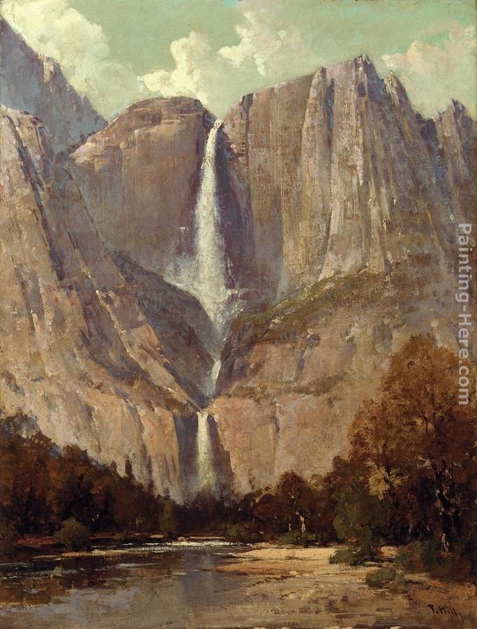 Thomas Hill Bridle Veil Fall, Yosemite