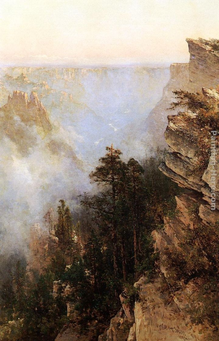 Thomas Hill Yosemite Canyon