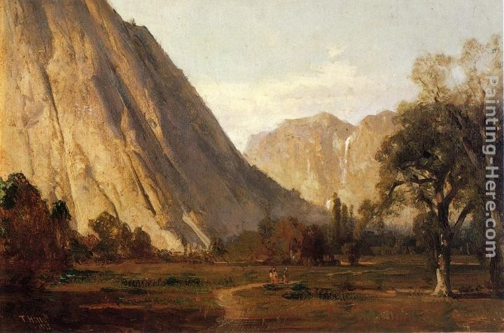 Thomas Hill Yosemite