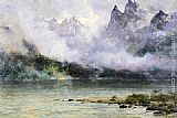 Thomas Hill Alaska Scene near Juneau painting