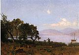 Thomas Hill Morning, Clear Lake painting