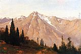 Thomas Hill Mountain of the Holy Cross painting