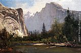 Thomas Hill Royal Arches and Half Dome, Yosemite painting