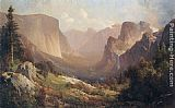 Thomas Hill View of Yosemite Valley painting