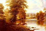 William Mellor Bolton Abbey, From The Wharfe, Yorkshire painting