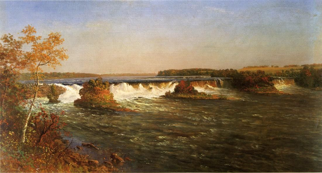Albert Bierstadt Falls of St
