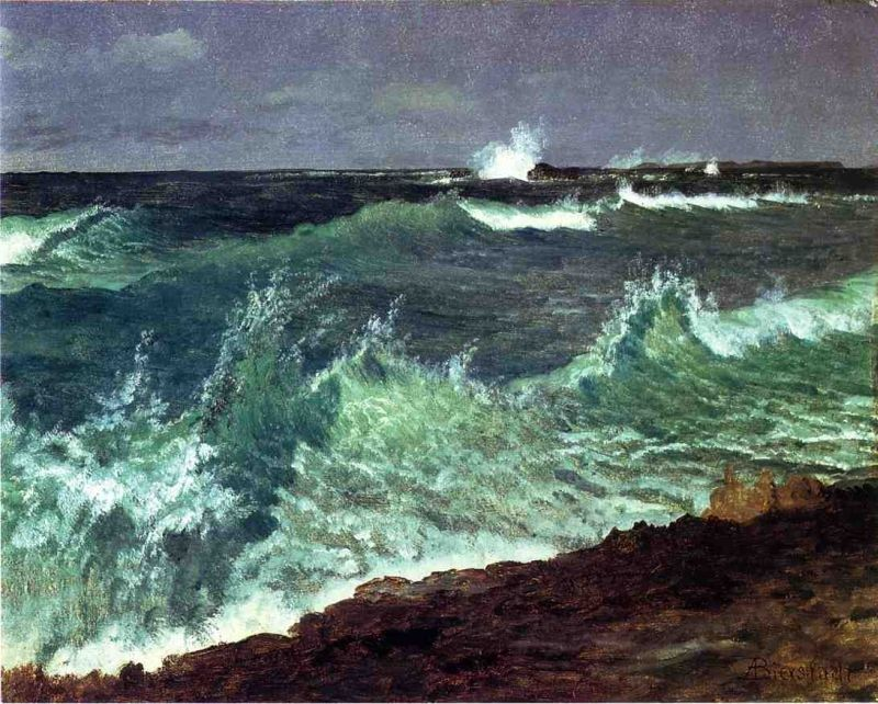 Albert Bierstadt Seascape