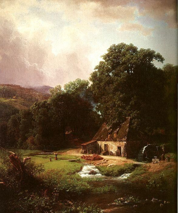 Albert Bierstadt The Old Mill