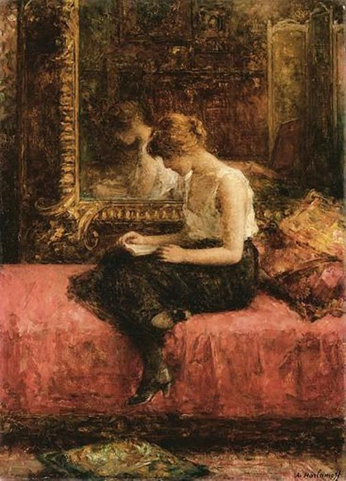 Alexei Alexeivich Harlamoff Literary Pursuits of a Young Lady