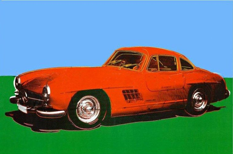 Andy Warhol 300 SL Coupe 1954