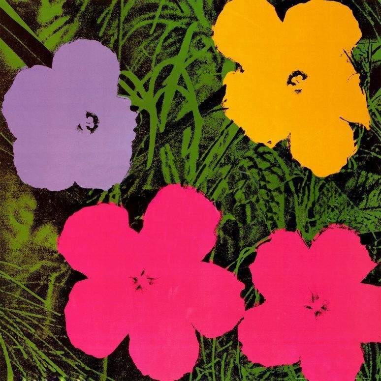 Andy Warhol Flowers 1970