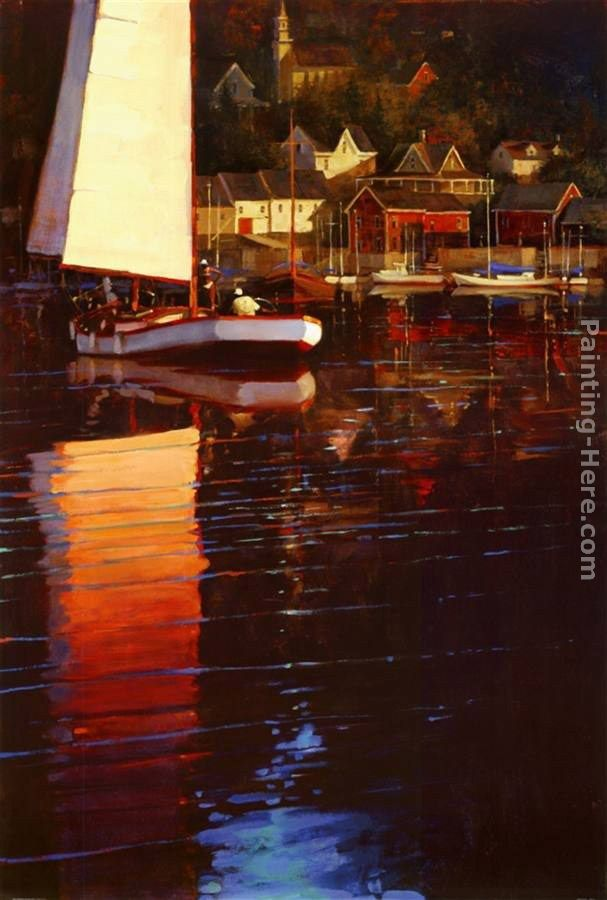 Brent Lynch New England Sunset Sail