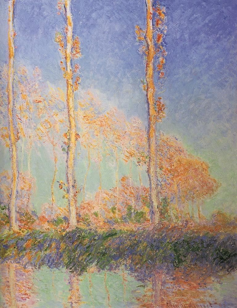 Claude Monet Poplars