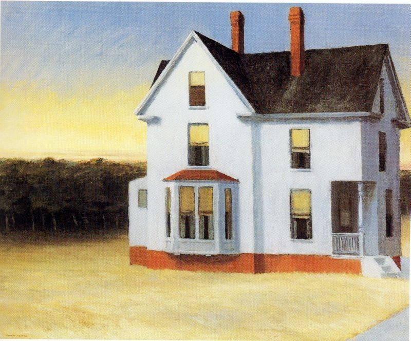 Edward Hopper Cape Cod Sunset
