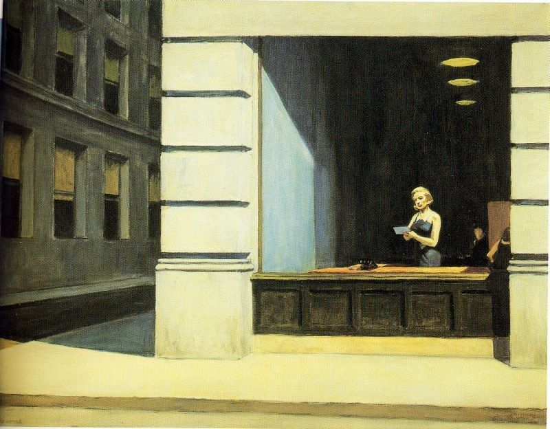 Edward Hopper New York Office