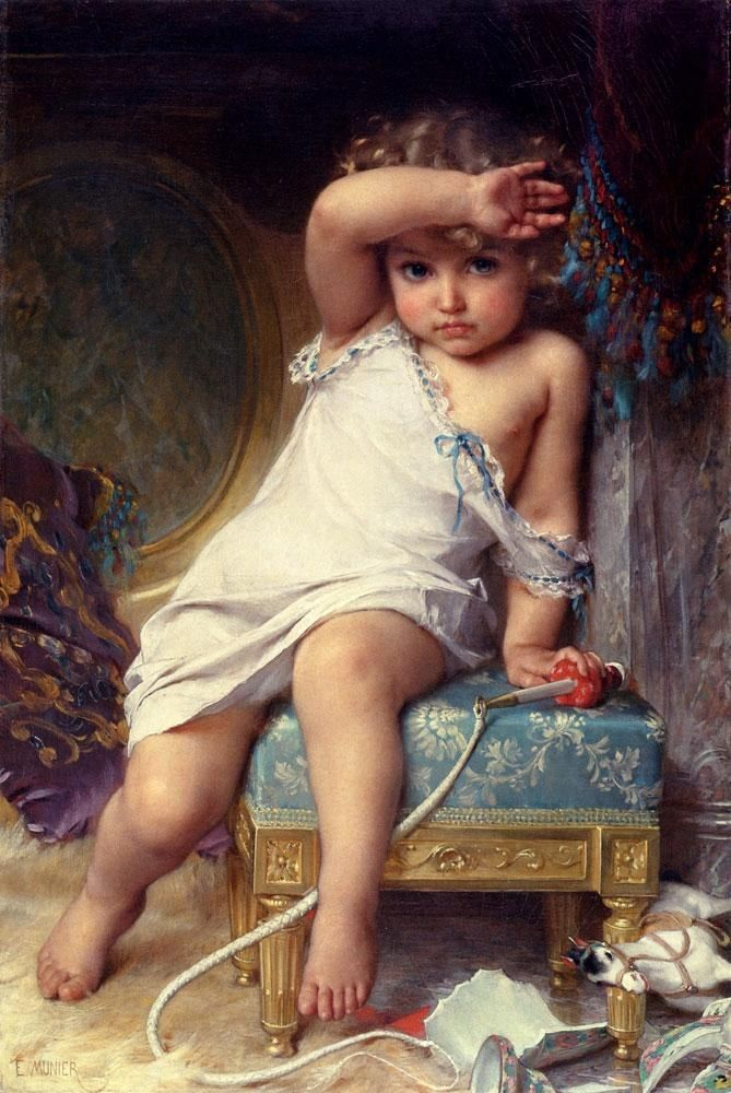 Emile Munier The Broken Vase