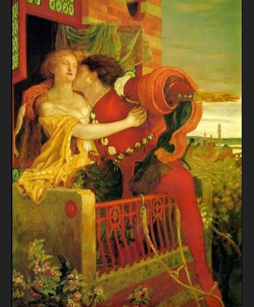 Ford Madox Brown Romeo and Juliet