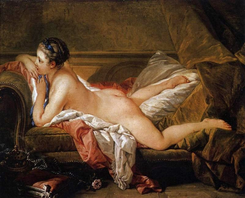 Francois Boucher L'Odalisque Blonde