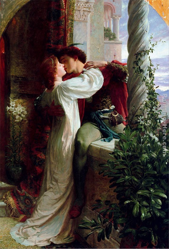 Frank Dicksee Romeo and Juliet cropped