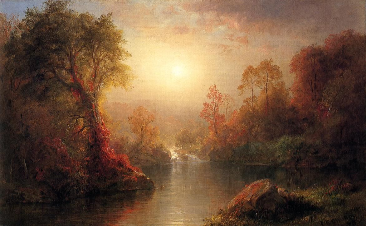 Frederic Edwin Church Autumn