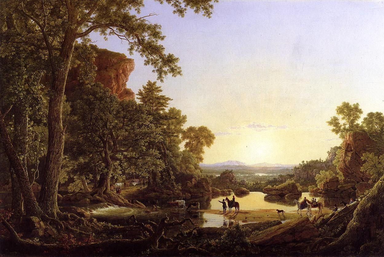 Frederic Edwin Church Hooker and Company Journeying