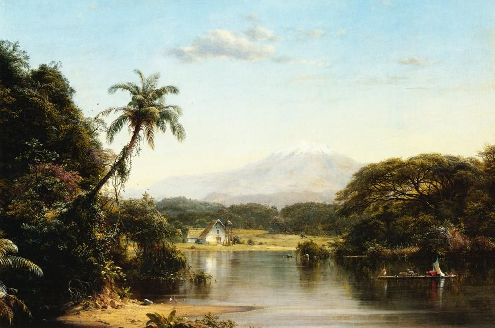 Frederic Edwin Church Scene on the Magdalena