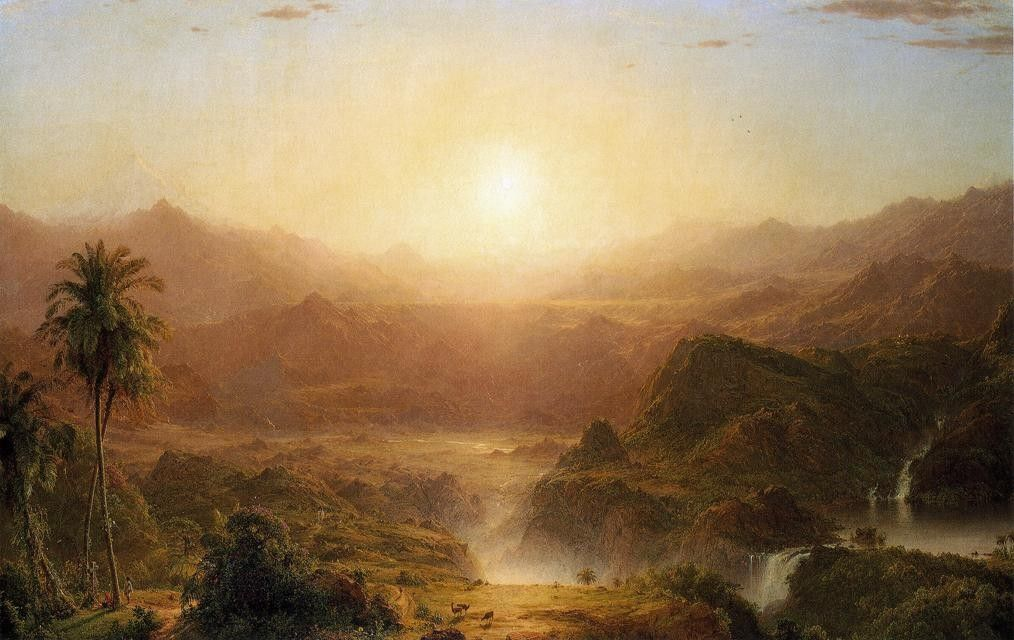 Frederic Edwin Church The Andes of Ecuador