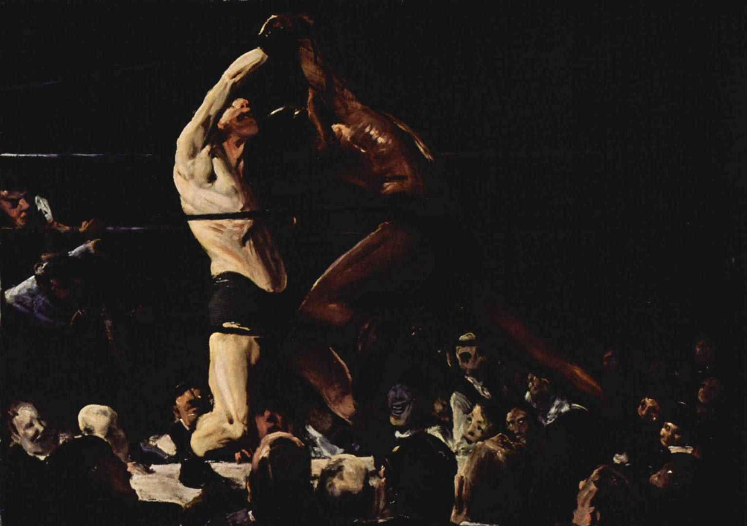 George Bellows Both Members of This Club