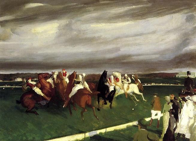 George Bellows Polo at Lakewood