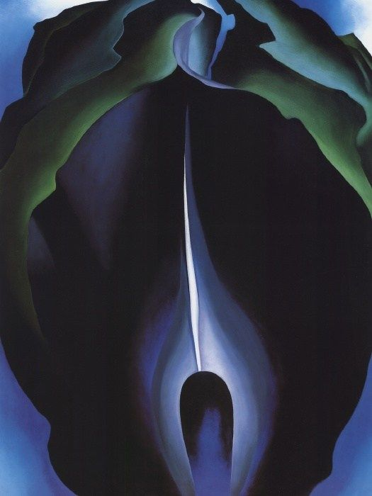 Georgia O'Keeffe Jack in the Pulpit No.IV