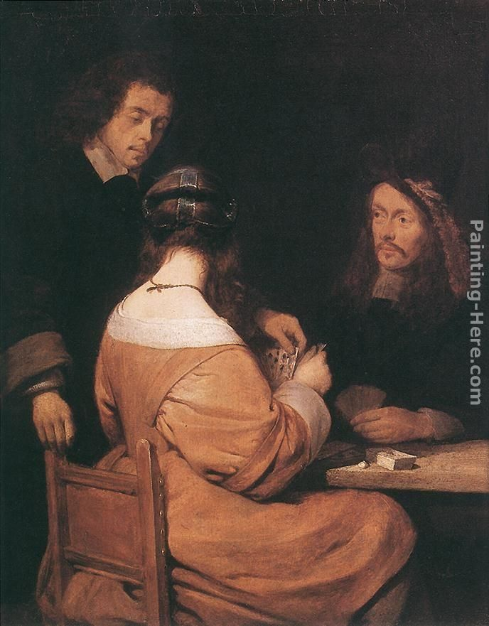 Gerard ter Borch Card-Players