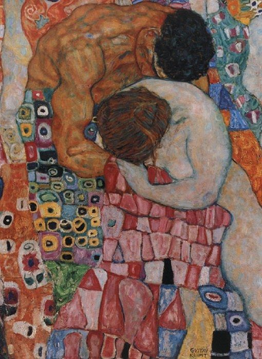 Gustav Klimt Death and Life