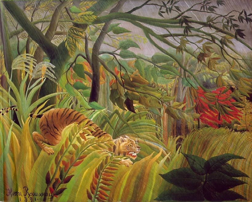 Henri Rousseau Surprise
