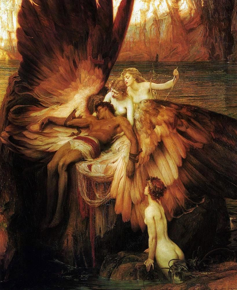 Herbert James Draper Lament for Icarus