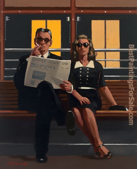 Jack Vettriano A Very Married Couple
