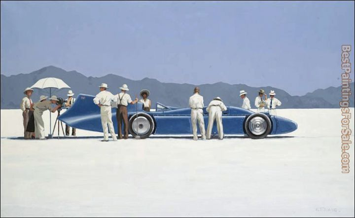 Jack Vettriano Bluebird At Bonneville