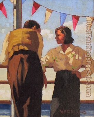 Jack Vettriano Couple On The Promenade