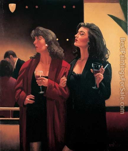 Jack Vettriano Girls' Night