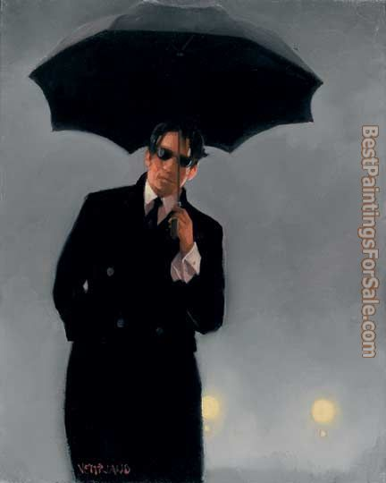 Jack Vettriano Man Pursued