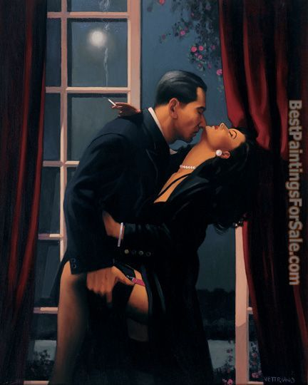Jack Vettriano Night Geometry